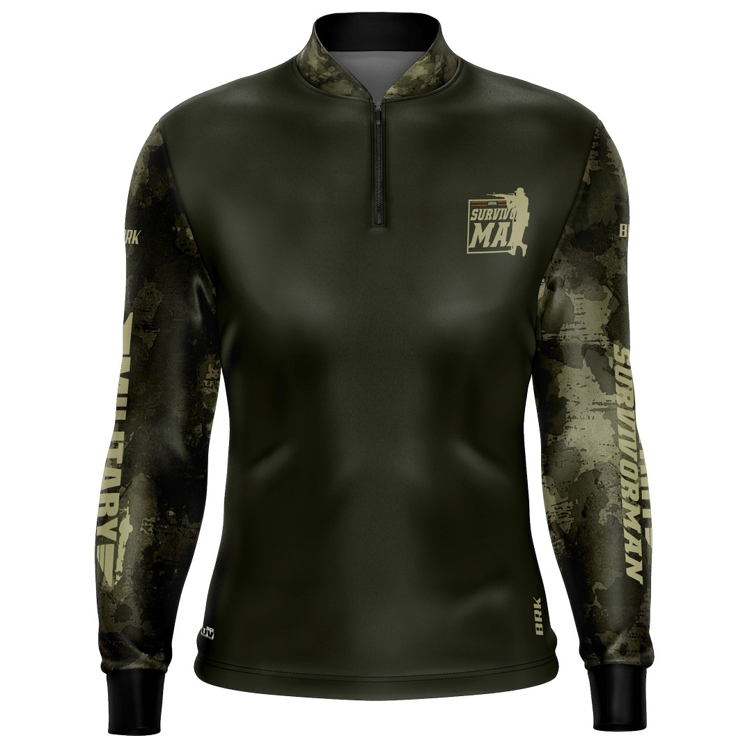 Camiseta Adventure Military 03 com fpu 50+