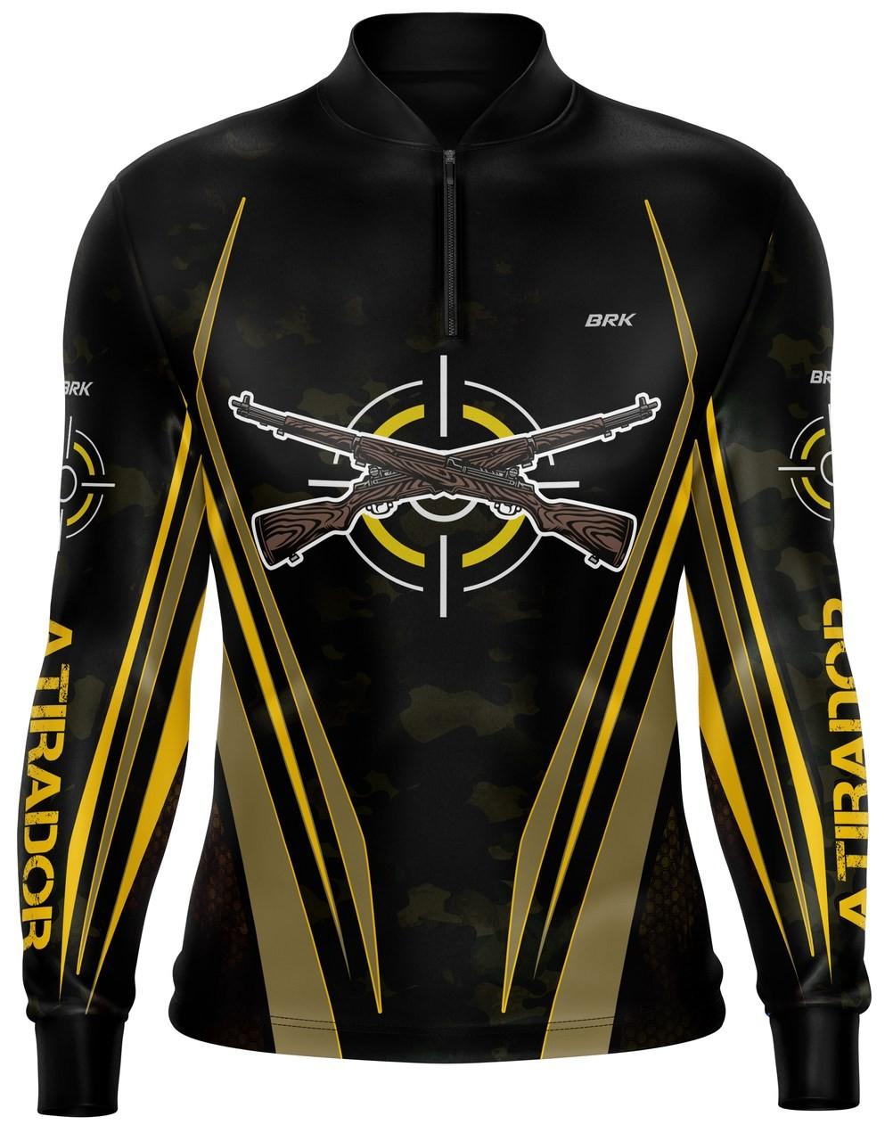 Camiseta Airsoft Brk Atirador Camuflada com FPU 50+