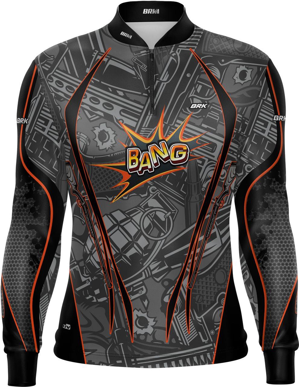 Camiseta Airsoft Brk Bang! com FPU 50+