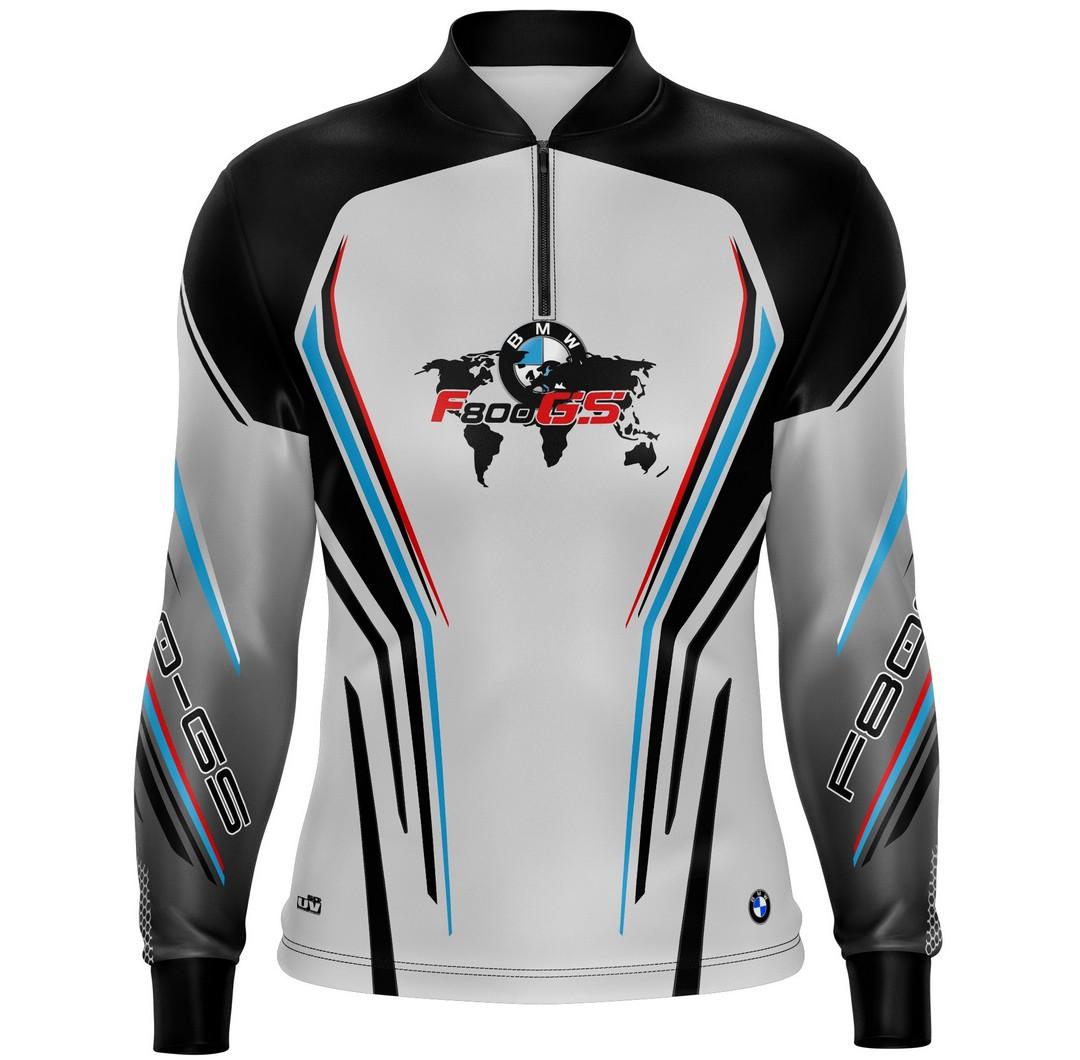 Camiseta Brk Motociclismo Big Trail F800 GS com FPU 50+