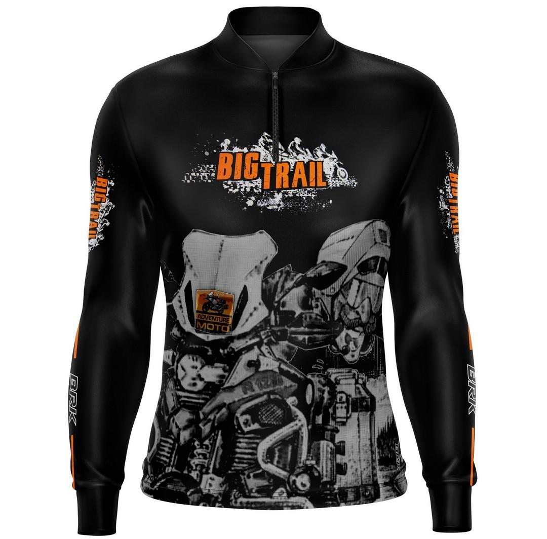 Camiseta Brk Motociclismo Big Trail FPU 50+