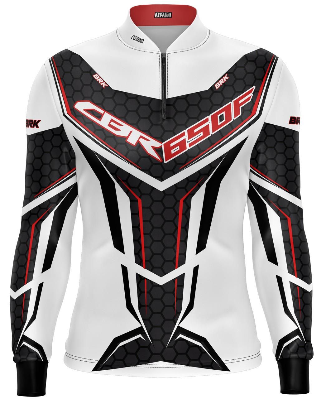 Camiseta Brk Motociclismo CBR 650F com FPU 50+