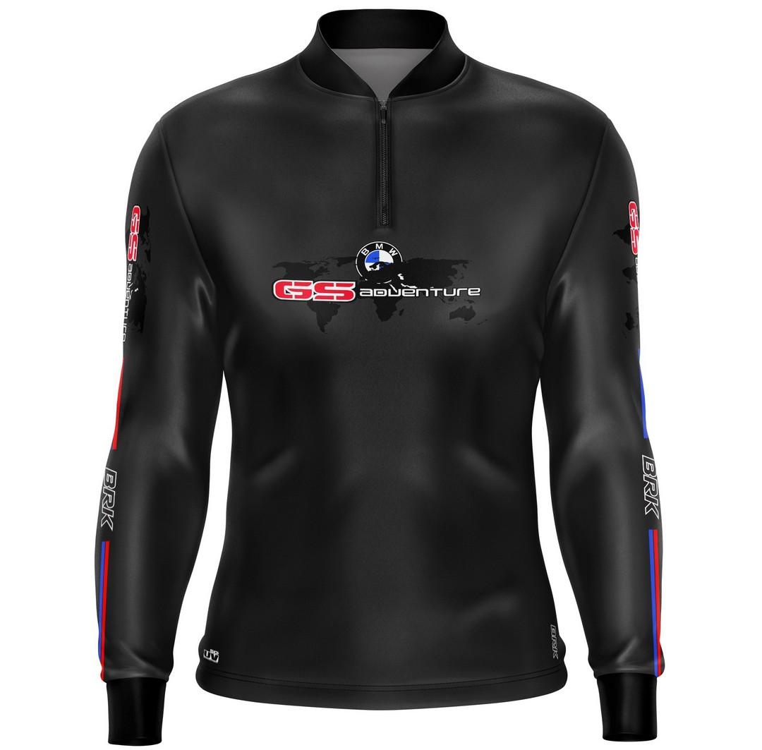 Camiseta Brk Motociclismo GS Adventure 02 com FPU 50+