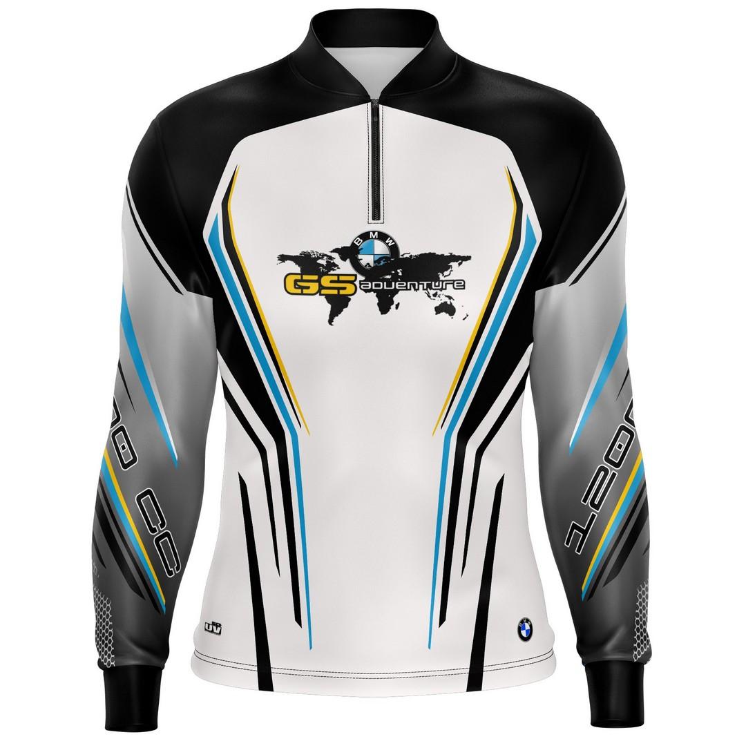 Camiseta Brk Motociclismo GS Adventure 04 com  FPU 50+