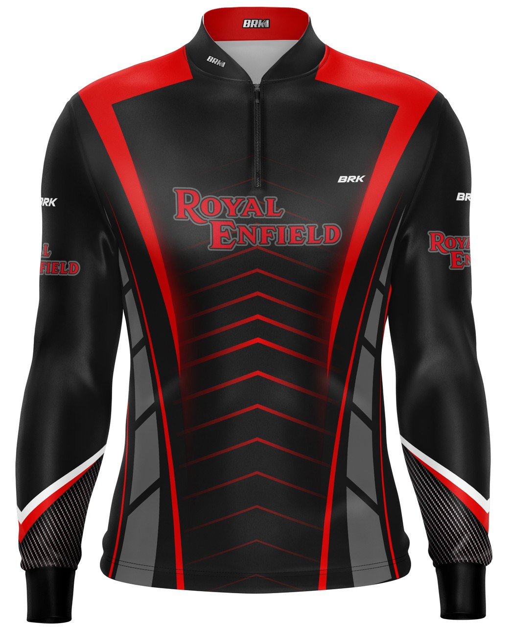 Camiseta Brk Motociclismo Royal Enfield com FPU 50+