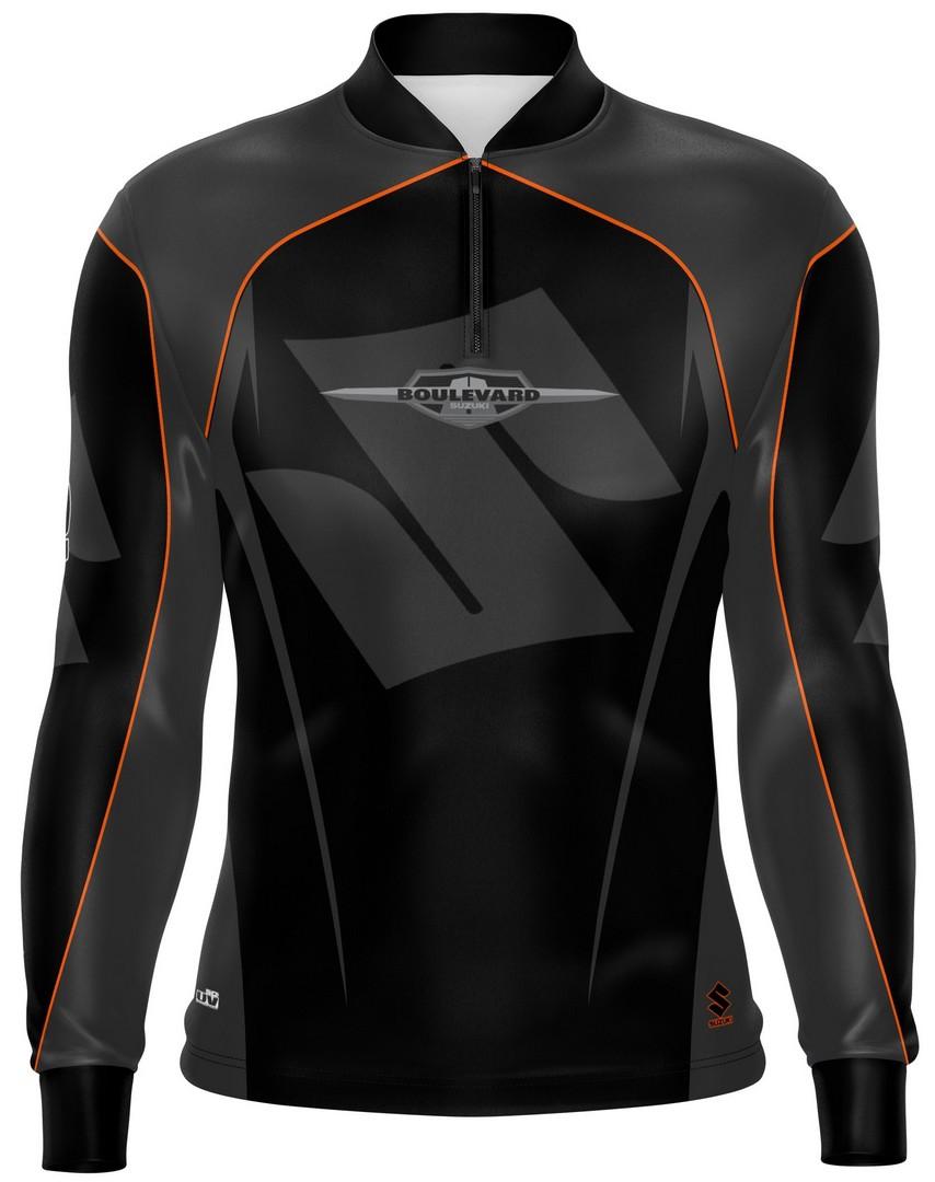 Camiseta Brk Motociclismo Suzuki Boulevard com FPU 50+