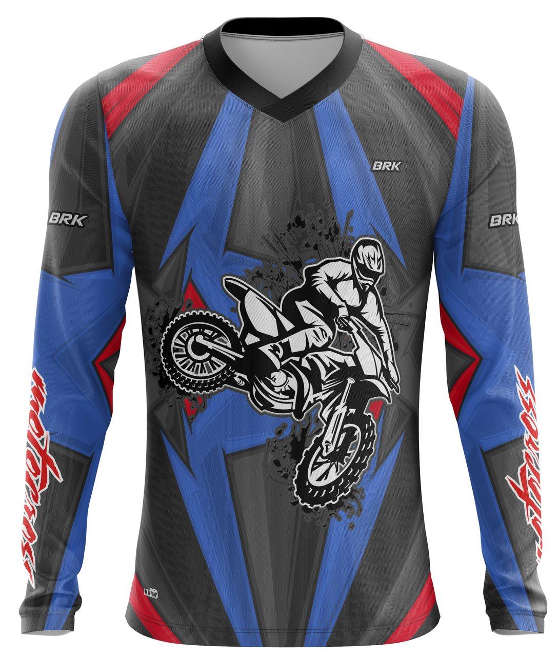 Camiseta Brk Motocross Trail com FPU 50+