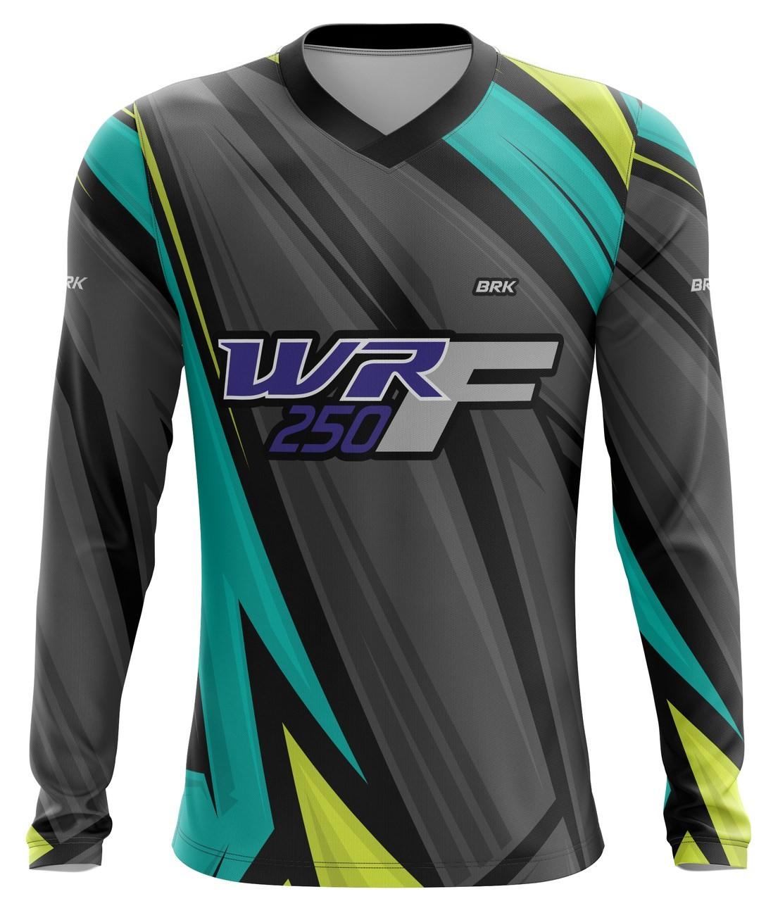 Camiseta Brk Motocross Yamaha WRF 250 com FPU 50+
