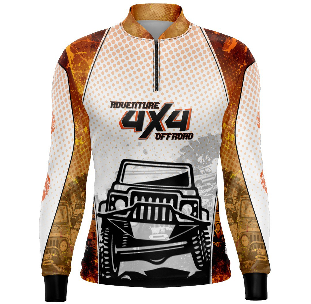 Camiseta Brk Offroad Live Your World Series 02 com FPU 50+