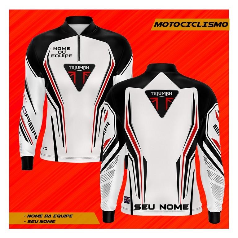 Camiseta Brk Personalizada Motociclismo Big Trail 800CC com fpu 50+