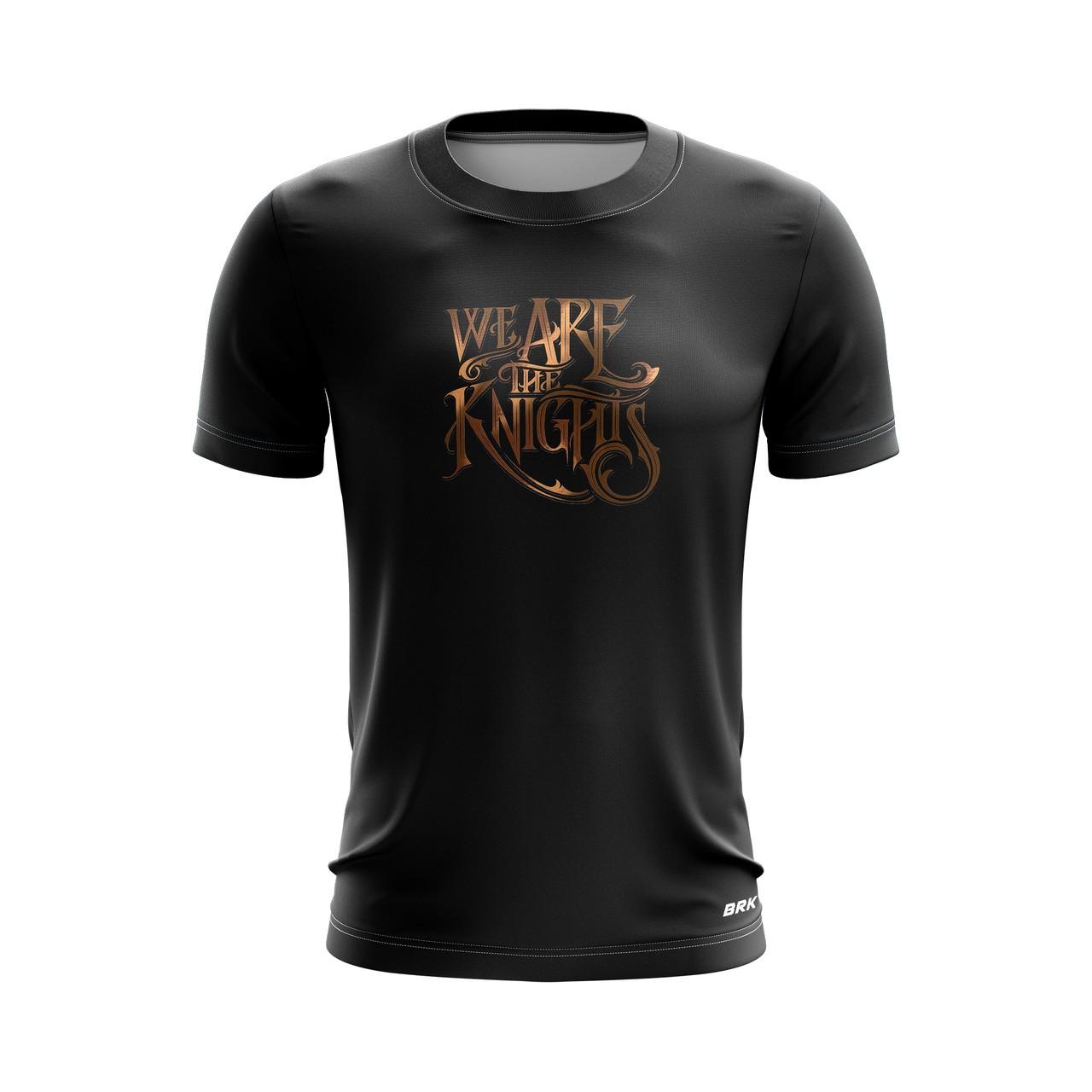 Camiseta Casual Brk Motociclismo Triumph We Are The Knights com FPU 50+