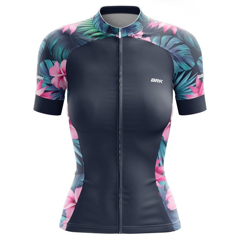 Camisa Ciclismo Brk Feminina Tropical com FPU 50+