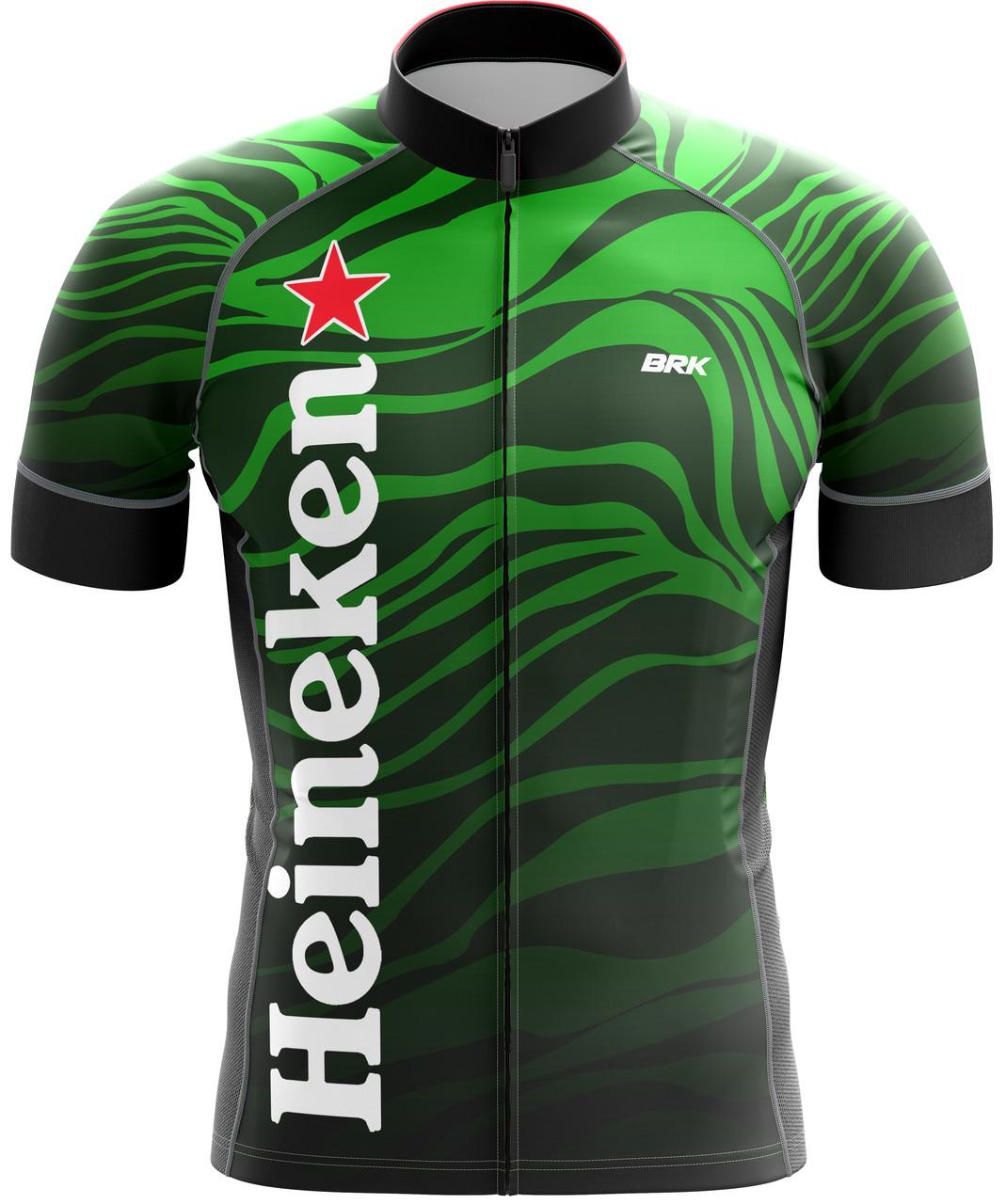 Camisa Ciclismo Brk Heineken com FPU 50+