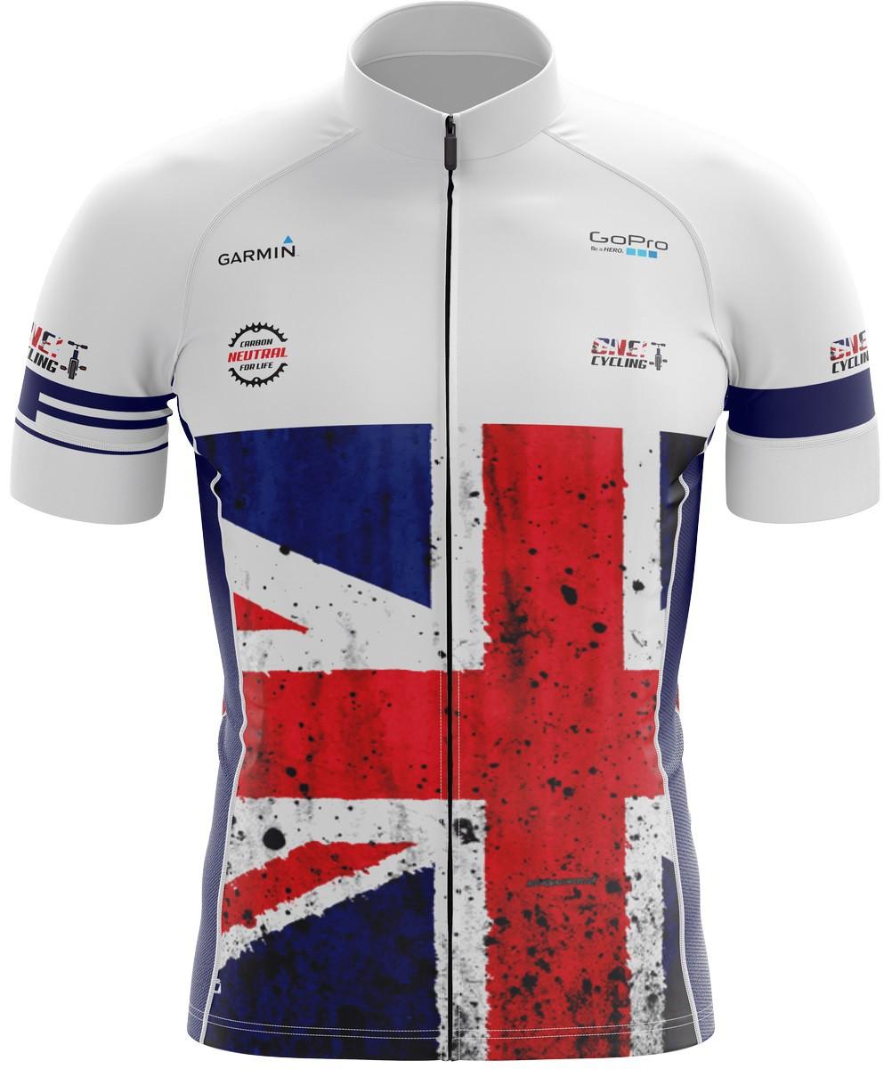 Camiseta Ciclismo Brk Inglaterra Retrô com FPU 50+
