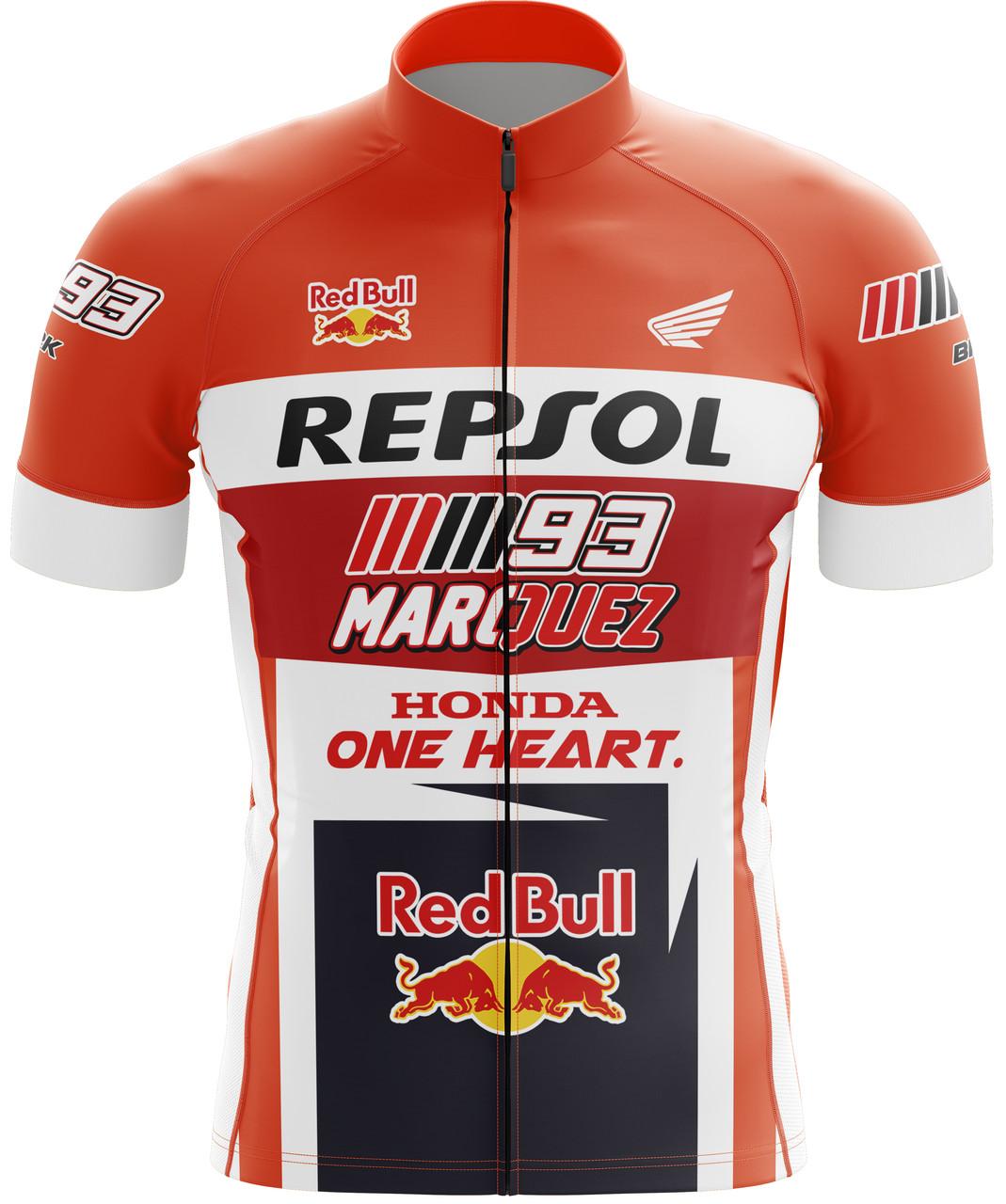 Camisa Ciclismo Brk Marc Márquez com FPU 50+