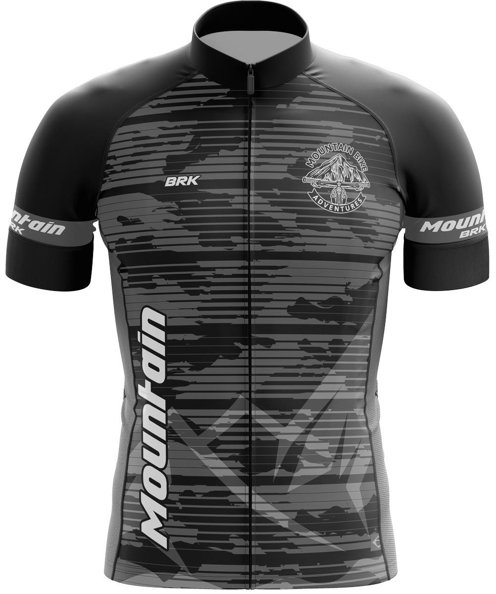 Camiseta Ciclismo Brk Preta com FPU 50+