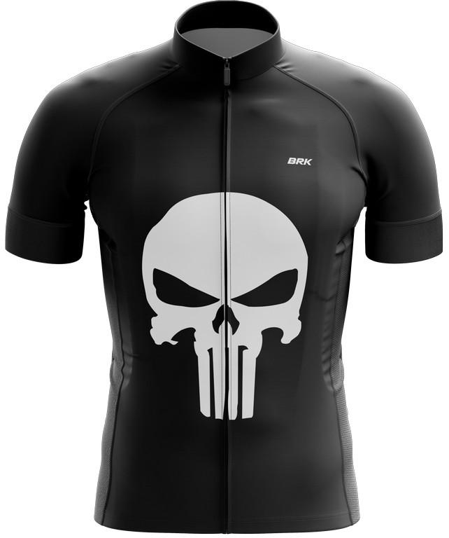 Camisa Ciclismo Brk The Punisher com FPU 50+