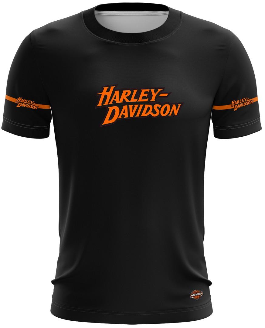 Camiseta Harley Davidson Casual 01 Brk Motociclismo Tecido Dry