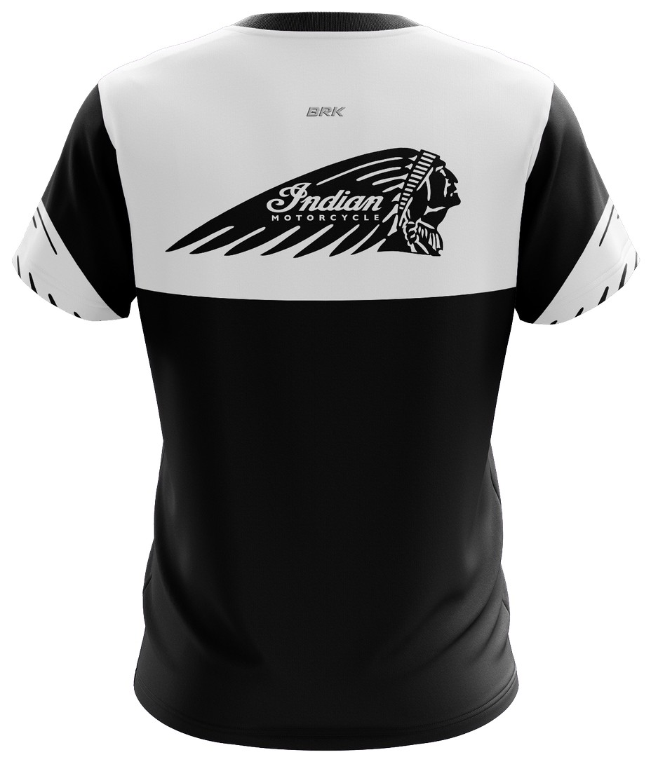Camiseta Indian Casual 02 Brk Motociclismo Tecido Dry