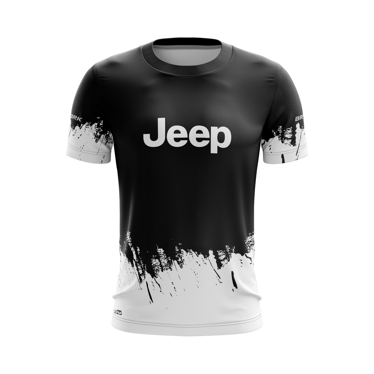 Camiseta Jeep Casual 02 Brk Off Road Tecido Dry