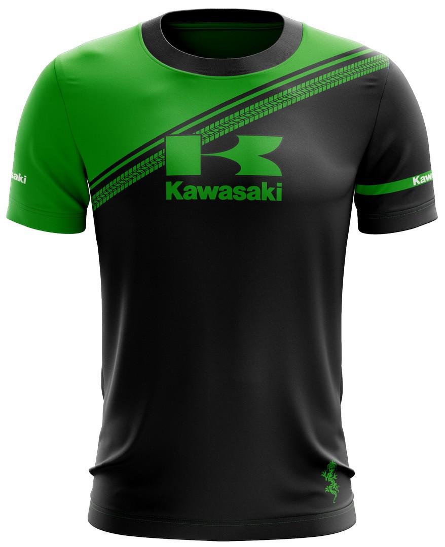 Camiseta Kawasaki Casual 03 Brk Motociclismo Tecido Dry