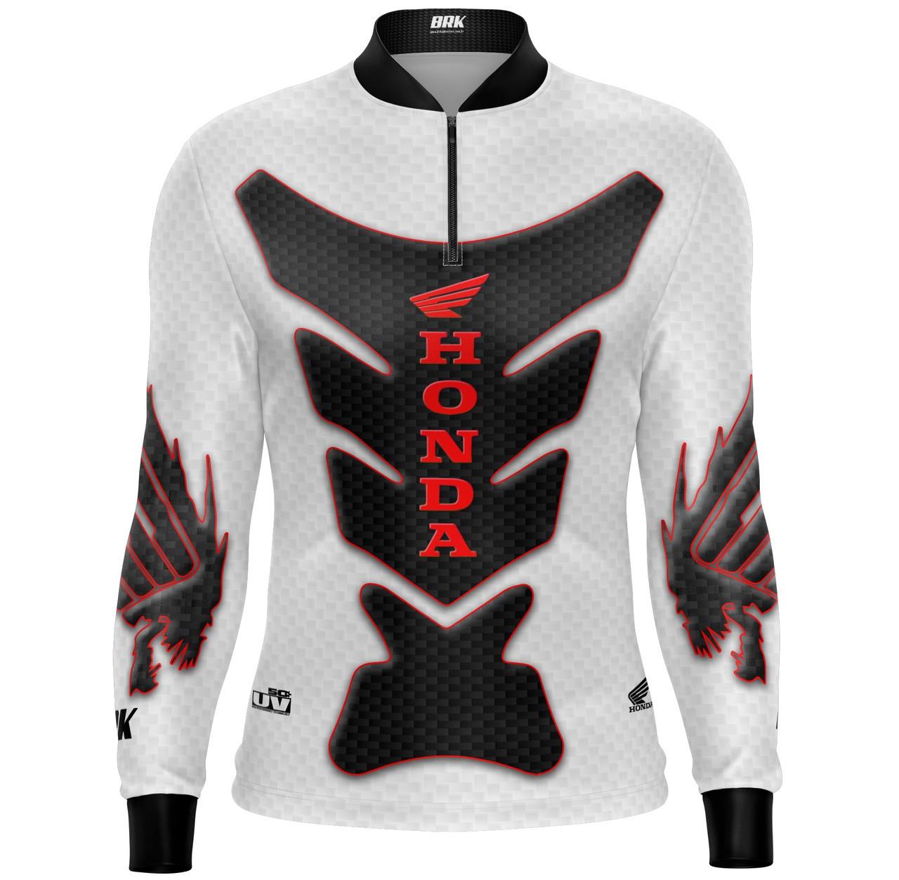 Camiseta Brk Motociclismo Honda Cb1000r Com Fpu +50