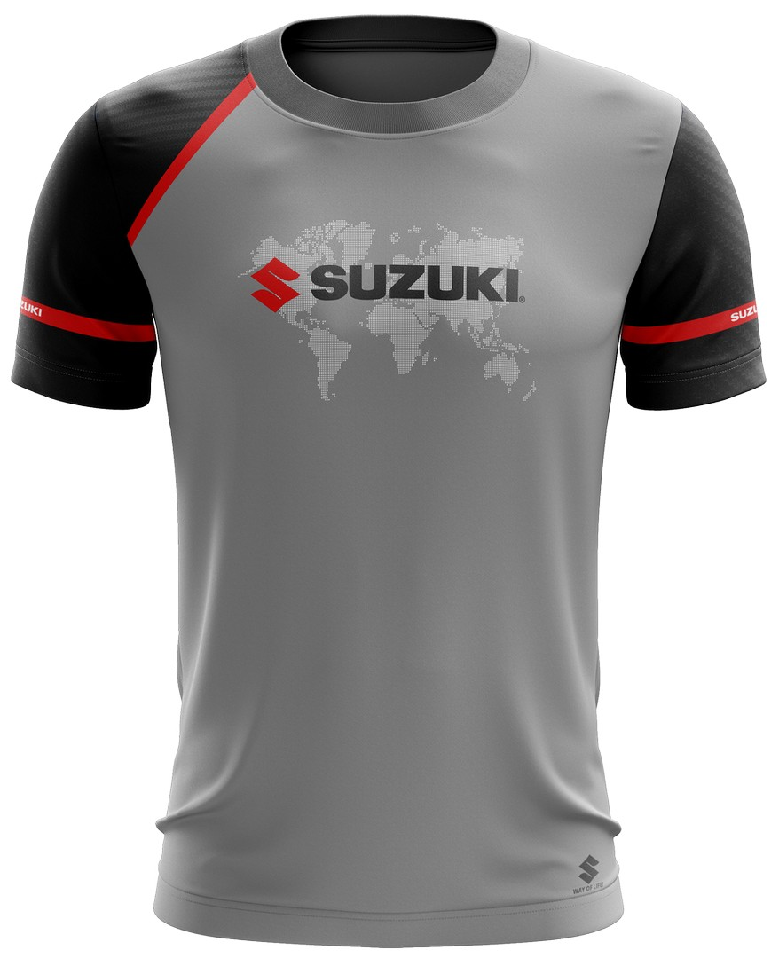 Camiseta Suzuki Casual 03 Brk Motociclismo Tecido Dry