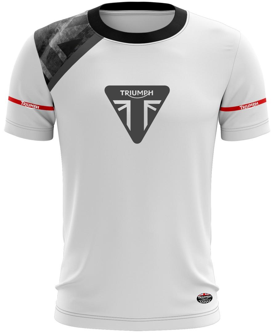 Camiseta Triumph Casual 01 Brk Motociclismo Tecido Dry