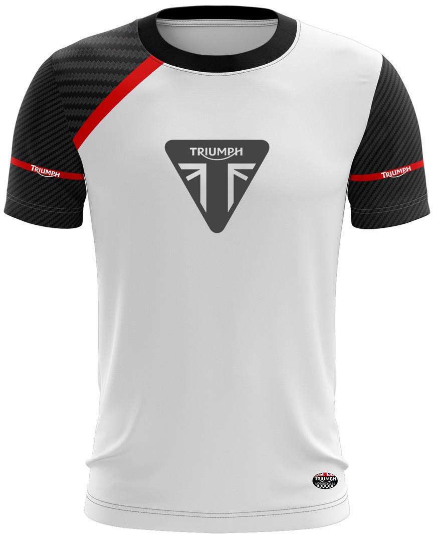Camiseta Triumph Casual 02 Brk Motociclismo Tecido Dry