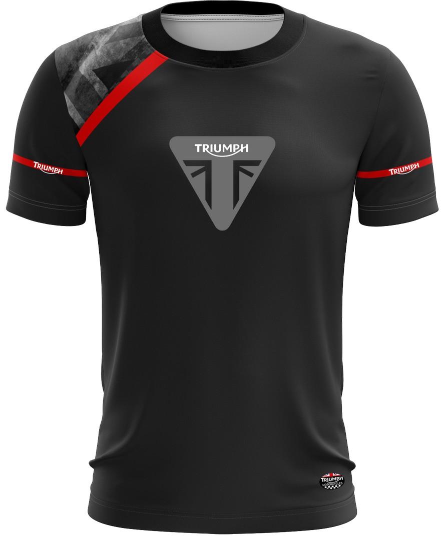 Camiseta Triumph Casual 03 Brk Motociclismo Tecido Dry