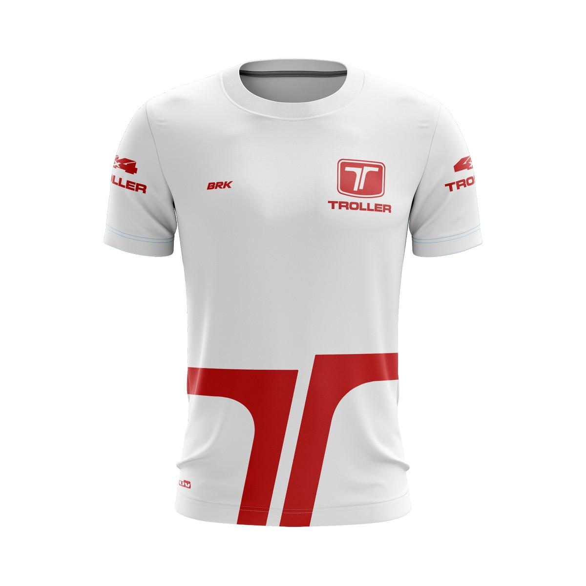 Camiseta Troller Casual 01 Brk Off Road Tecido Dry