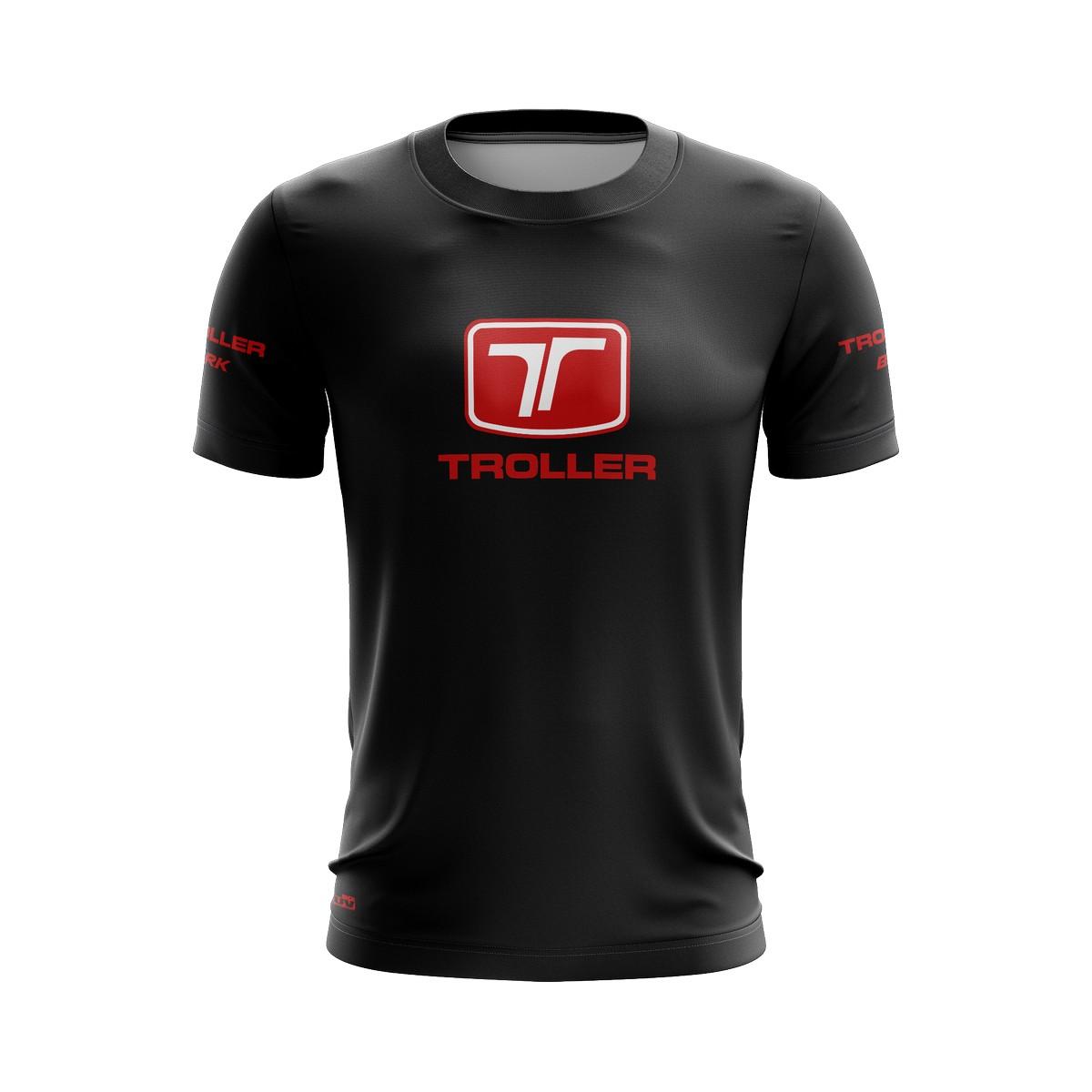 Camiseta Troller Casual 02 Brk Off Road Tecido Dry