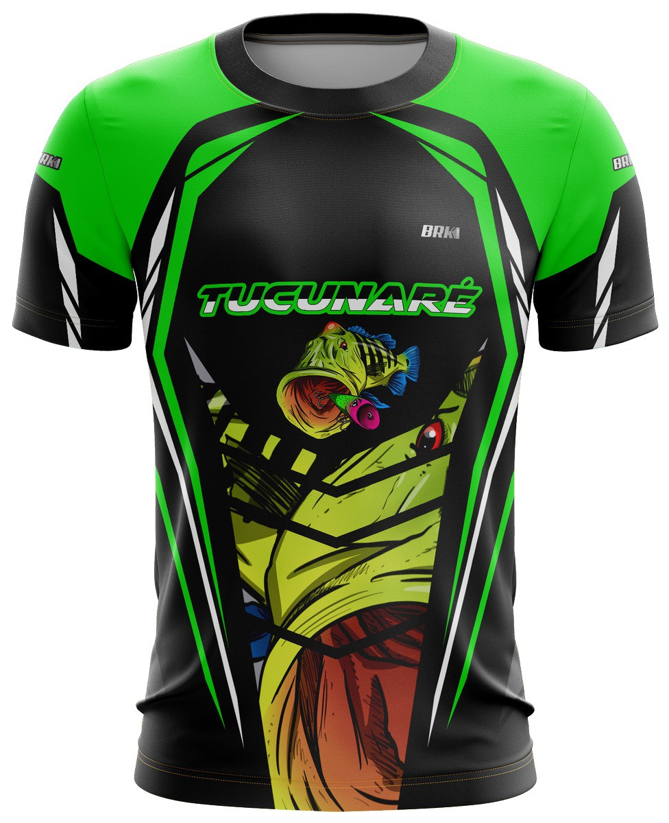 Camiseta Tucunaré Casual 03 Brk Tecido Dry