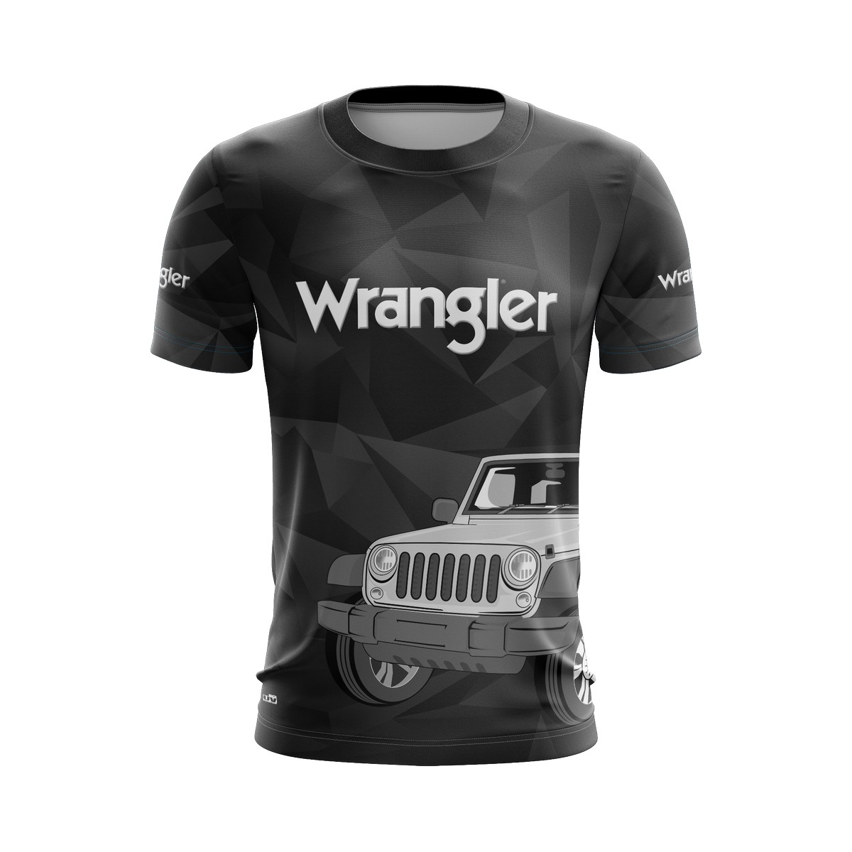 Camiseta Wrangler Casual 02 Brk Off Road Tecido Dry