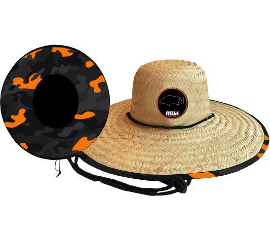 Chapéu de Palha OutSider BRK Camo Orange