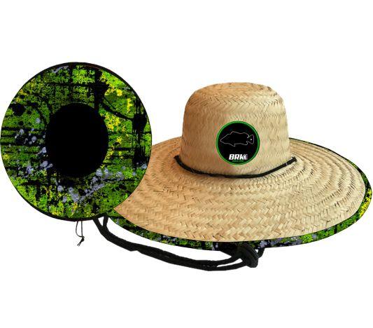 Chapéu de Palha OutSider BRK Green Fish
