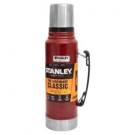 Garrafa Térmica Classic Stanley Hammertone Crimson Vermelho 1 LT