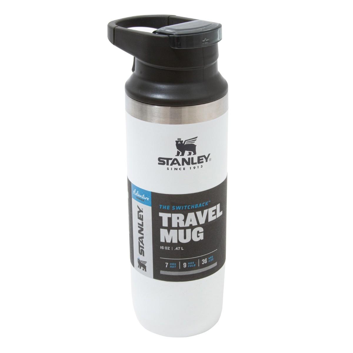 Garrafa térmica Switchback Branca Travel Mug Stanley 473ml