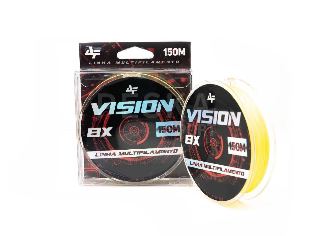 Linha de pesca VISION X8 150m Yellow 0,32