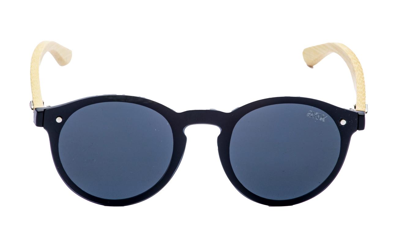 Óculos de Sol Polarizado Brk Casual 18 Wood Azul Escuro