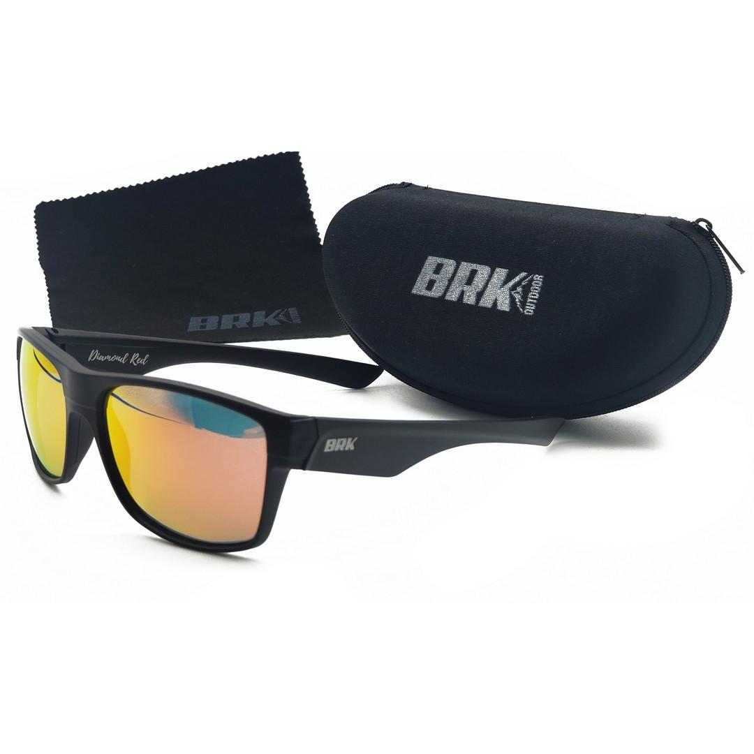 Óculos de Sol Polarizado BRK Diamond Red