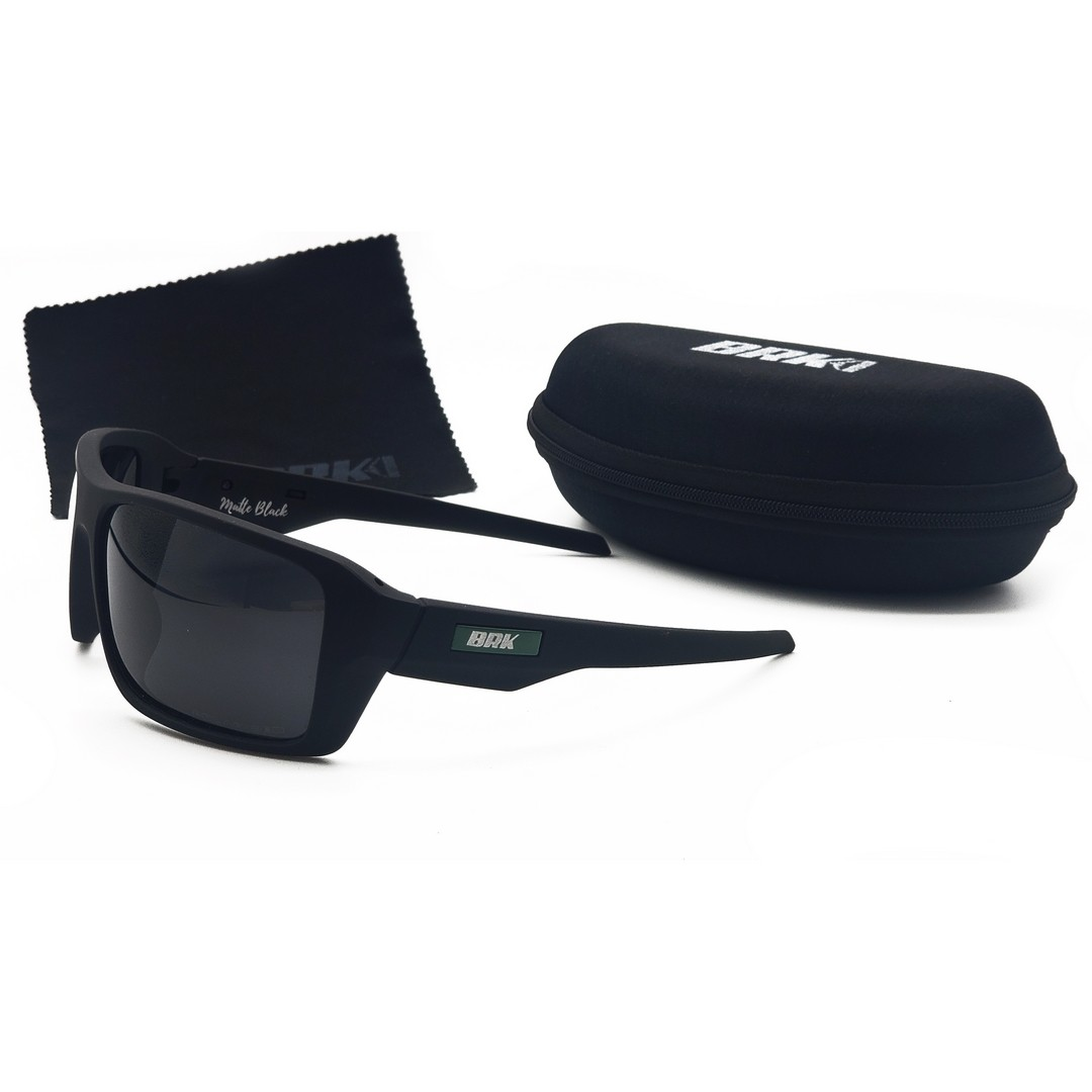 Óculos de Sol Polarizado BRK Mate Black