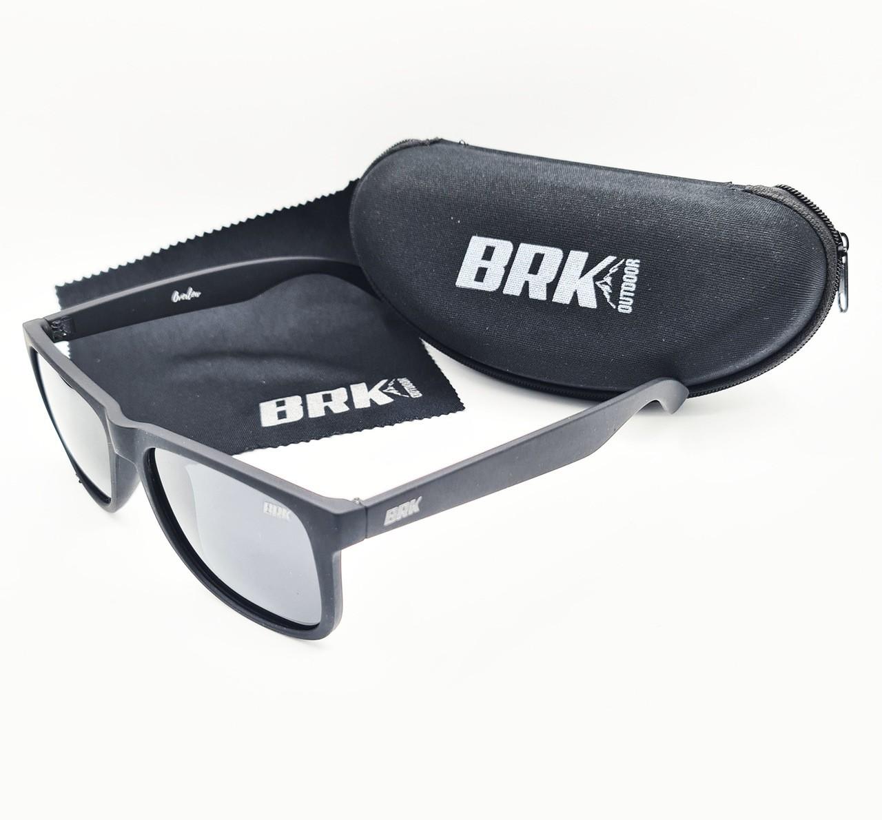 Óculos de Sol Polarizado Brk Overlow Preto