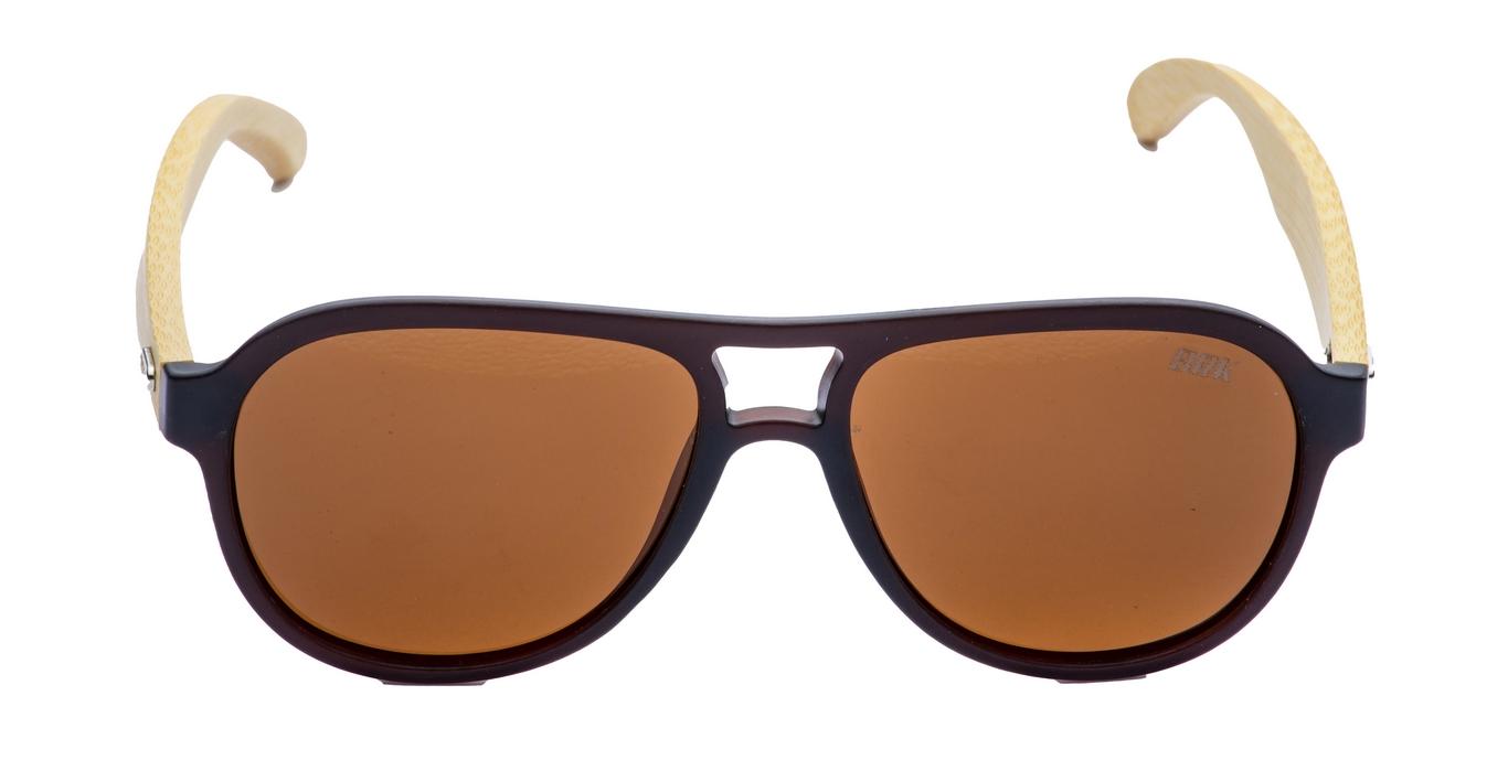 Óculos de Sol Polarizado Brk Vintage 13 Wood Soft Marrom