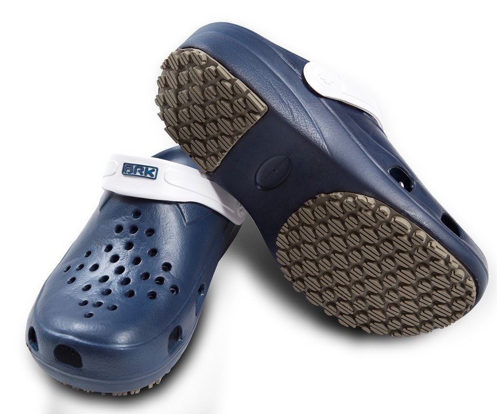Calçado Babuche Pro Fisher Brk Azul com Alça Branca