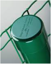 Poste Esticador Verde 63,50 x 1,95 mm