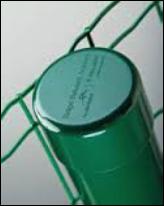 Poste Galvanizado Verde