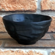 Bowl de Melamina Nihon Preto 15 cm