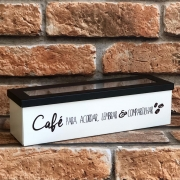 Caixa Porta Cápsulas de Café Geguton