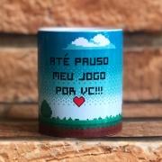 Caneca Personalizada Pauso Meu Jogo Por Vc